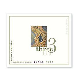 2013 Three Wine Rodgers Creek Syrah