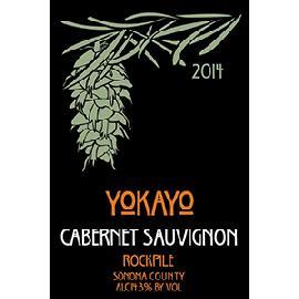 2014 Yokayo Cabernet Sauvignon Rockpile Sonoma County