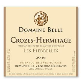 2016 Domaine Belle Crozes-Hermitage Les Pierrelles