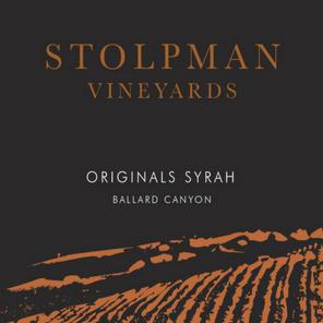 2016 Stolpman Vineyards Originals Syrah Ballard Canyon Santa Ynez Valley