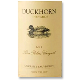 2013 Duckhorn Cabernet Sauvignon Three Palms Vineyard Napa