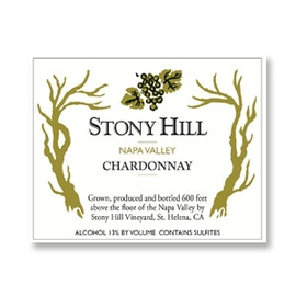 2014 Stony Hill Vineyard Chardonnay Napa Valley
