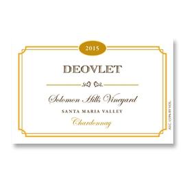 2015 Deovlet Chardonnay Solomon Hills Vineyard Santa Maria Valley