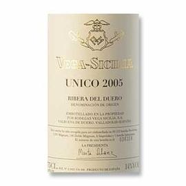 2005 Vega Sicilia Unico Ribera del Duero