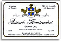 2009 Domaine Leflaive Batard-Montrachet
