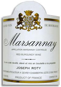 2010 Domaine Joseph Roty Marsannay