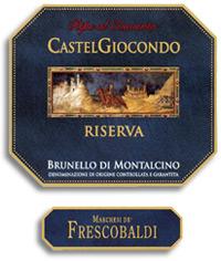 1995 Frescobaldi Brunello Di Montalcino Castelgiocondo Riserva