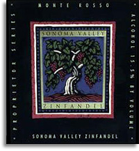 2009 Robert Biale Vineyards Zinfandel Monte Rosso Vineyard Sonoma Valley