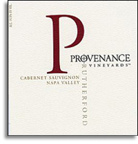 2010 Provenance Vineyards Cabernet Sauvignon Rutherford
