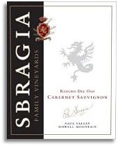 2007 Sbragia Family Vineyards Cabernet Sauvignon Rancho Del Oso Howell Mountain