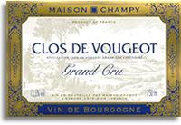 2002 Champy Pere Et Fils Clos Vougeot