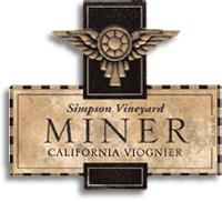 2010 Miner Family Vineyards Viognier Simpson Vineyard California