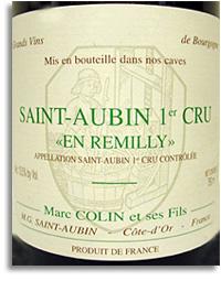 2014 Domaine Marc Colin Saint-Aubin Remilly