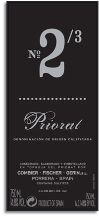2007 Trio Infernal Priorat Cuvee No 23