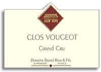 1993 Domaine Daniel Rion Et Fils Clos Vougeot