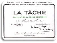 2008 Domaine de la Romanee-Conti La Tache