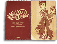 2010 Mollydooker Wines Shiraz Cabernet Merlot Two Left Feet