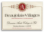 2012 Andre Colonge Beaujolais Villages