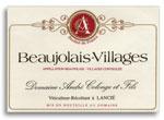 2013 Andre Colonge Beaujolais Villages