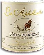 2011 Domaine Les Aphillanthes Cotes Du Rhone
