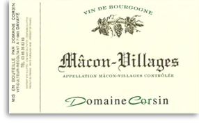 2013 Domaine Corsin Macon Villages