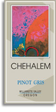 2008 Chehalem Pinot Gris Willamette Valley