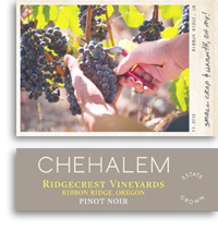 2009 Chehalem Pinot Noir Ridgecrest Vineyards Ribbon Ridge