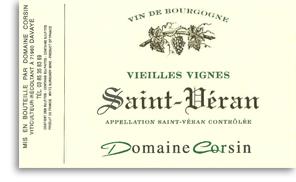 2010 Domaine Corsin Saint Veran Vieilles Vignes