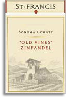 2009 St. Francis Winery & Vineyards Zinfandel Old Vines Sonoma County