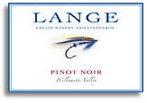 2011 Lange Winery Pinot Noir Willamette Valley