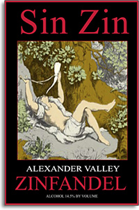 2010 Alexander Valley Vineyards Zinfandel Sin Zin Alexander Valley