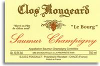 2010 Clos Rougeard Saumur Champigny Le Bourg