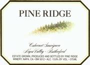 2008 Pine Ridge Winery Cabernet Sauvignon Rutherford Napa Valley
