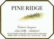 2005 Pine Ridge Winery Cabernet Sauvignon Rutherford Napa Valley