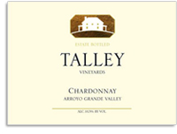 2011 Talley Chardonnay Estate Arroyo Grande Valley