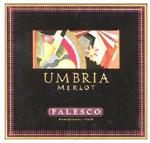 2012 Cantina Falesco Merlot Umbria