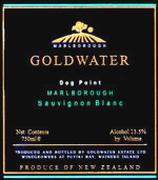 2002 Goldwater Estate Sauvignon Blanc Marlborough Dog Point