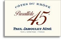 2009 Paul Jaboulet Aine Cotes Du Rhone Parallele 45