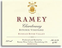2010 Ramey Wine Cellars Chardonnay Ritchie Vineyard Russian River Valley