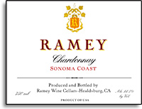 2010 Ramey Wine Cellars Chardonnay Sonoma Coast