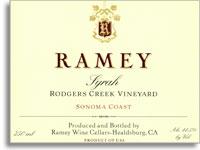 2006 Ramey Wine Cellars Rodgers Creek Syrah