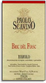 2010 Paolo Scavino Barolo Bric Del Fiasc