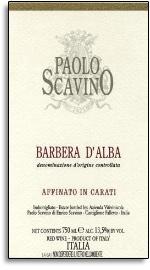 2013 Paolo Scavino Barbera d'Alba