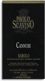 2003 Paolo Scavino Barolo Cannubi
