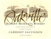 2010 Robert Mondavi Winery Cabernet Sauvignon Oakville District