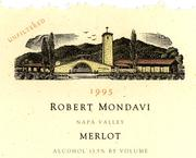 2010 Robert Mondavi Winery Merlot Napa Valley