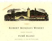 2010 Robert Mondavi Winery Fume Blanc Napa Valley