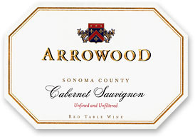 2010 Arrowood Vineyards And Winery Cabernet Sauvignon Sonoma County
