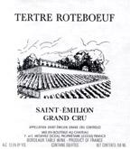 1995 Chateau Le Tertre Roteboeuf Saint-Emilion