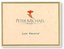 2011 Peter Michael Winery Les Pavots Red Wine Knights Valley